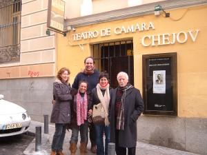 Анхель Гутьєррес з теперішніми своїми учнями