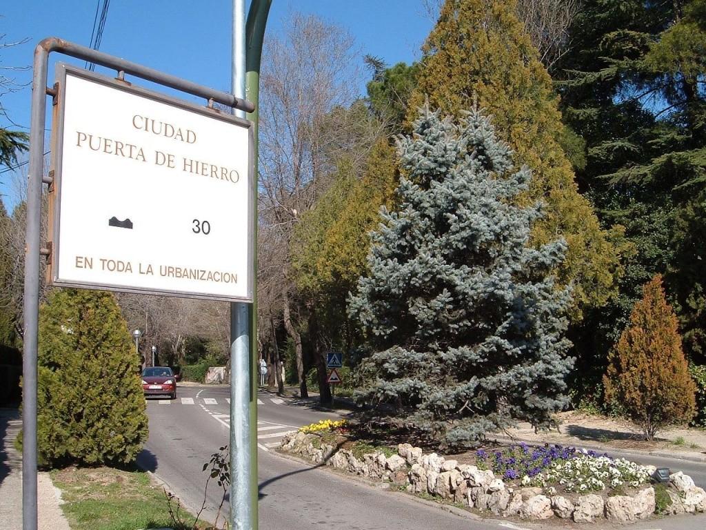 мадридський район Пуерта де Єрро, де знаходиться резиденція англійського посла