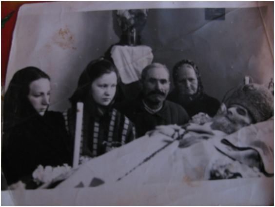 Прощання І. Чарнецького з братом