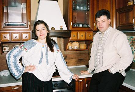 Олег Тягнибок та дружина Ольга Тягнибок (Демчишин)