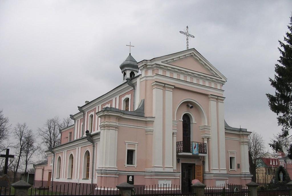 Костьол Святої Варвари в Бердичеві. У 1850 р. тут відбулося вінчання де Бальзака та Ганської
