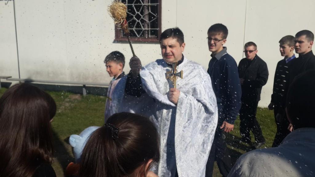 В церкві Володимира і Ольги освятили паски