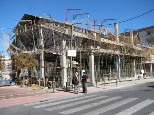 На такому етапі було будівництво восени 2013 року