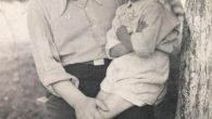 Григорій Сомик із сином Ярком.