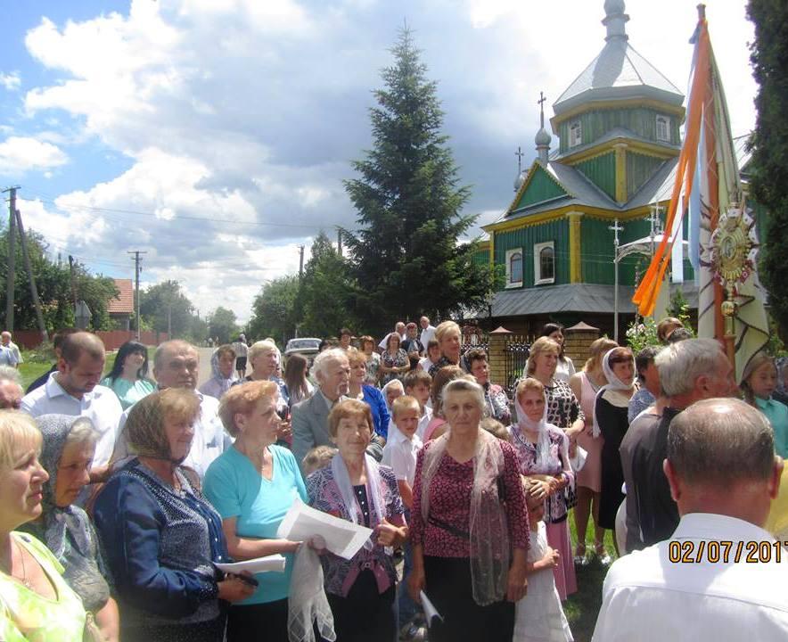У Кам'яному вшанували пам'ять головнокомандуючого УПА