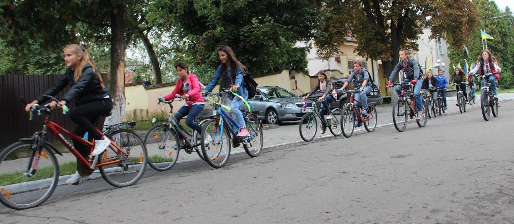 Велопробіг. Святкування Незалежності в Ходорівській громаді