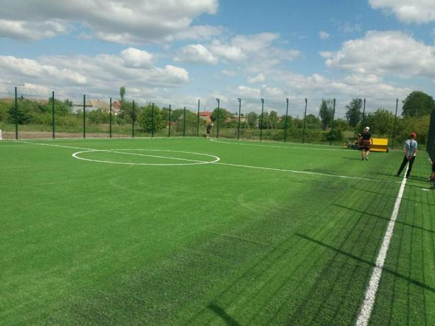 футбольне поле із штучними покриттям в Дулібах