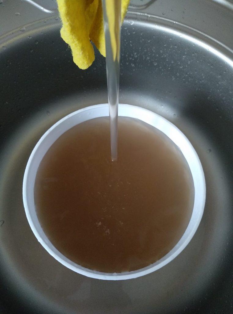 Брудна вода з кранів в Ходорові