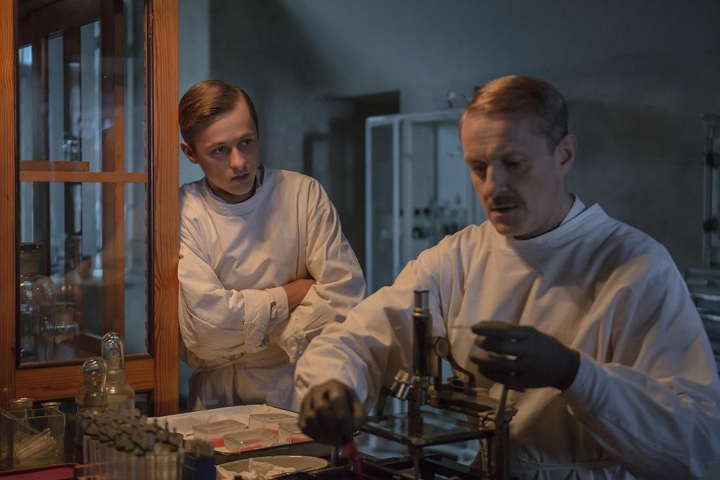 Остап Вакулюк (Тарас) і Яцек Понедзялек (Доктор)