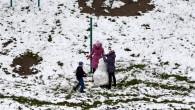 У Ходорові перший сніг