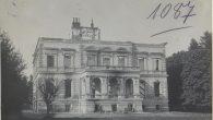 Chodorow: Schloss, Brandruine. Палац Любомирських