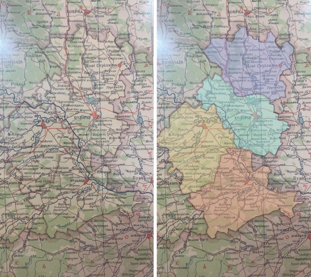 Дрогобицька область. Кара 40-50-х років. Новострілищанський, Ходорівський, Жидачівський і Журавненський райони